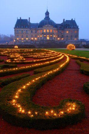 castillo Vaux le vicomte