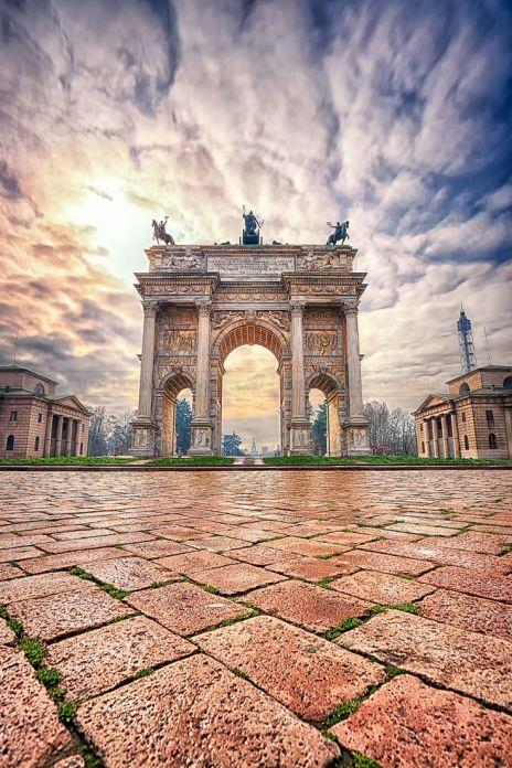 arco de la paz milan