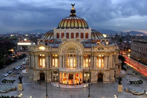 Palacio-de-Bellas-Artes-México