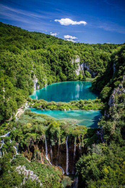 parque nacional de los lagos croacia