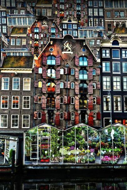 mercado de flores de Amsterdam